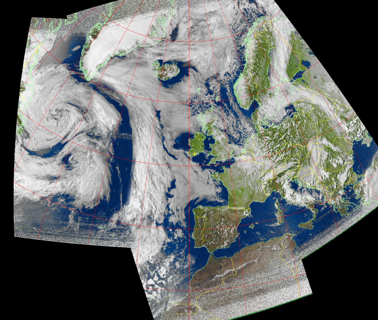 MSA composite image from NOAA-15 on 15 May 2016